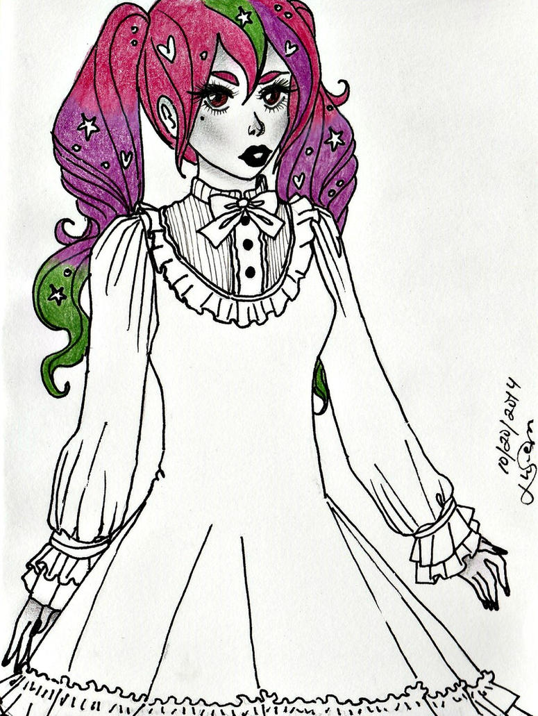 #InkTober Day 20 by Wandering-Lady