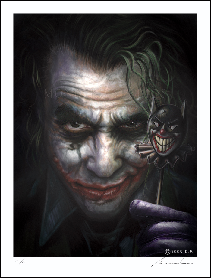 Airbrush Joker Wallpaper: Heath Ledger, 'The Joker' By Awtew On DeviantArt
