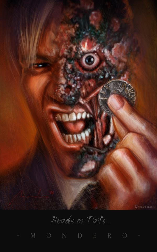 Harvey Dent New Earth: Harvey Dent As Two-Face By Awtew On DeviantArt
