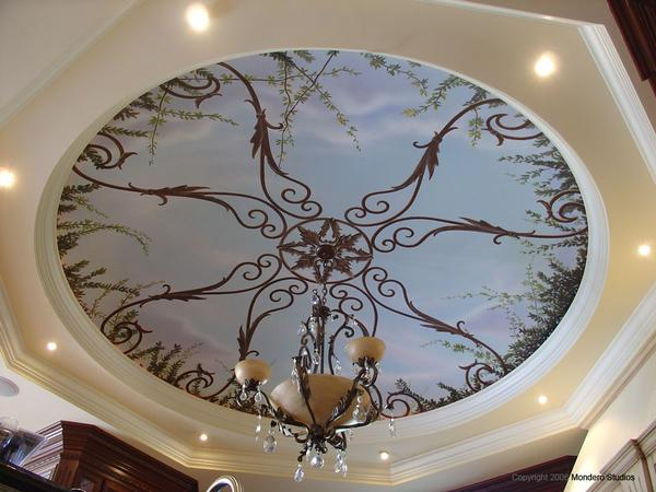 Kitchen Dome Trompe L'oeil by Awtew