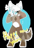 happy new ears by K0JIIN