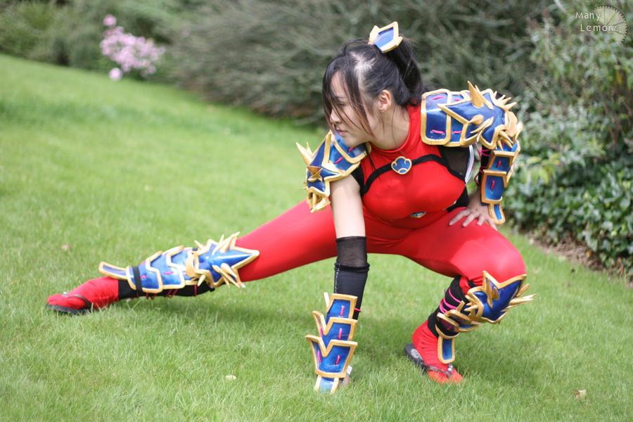 Taki- Landing of a Ninja by Kaka-Extreme