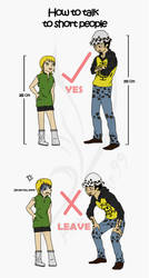 OP OC : How To Talk To Short People