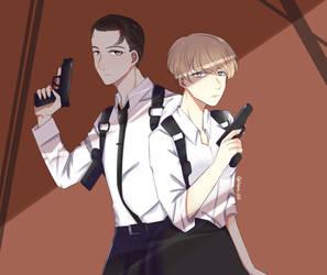Connor and Kara by Hizaki261