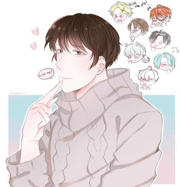 Kiss me? by Hizaki261