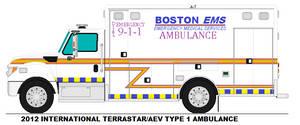 Boston MA Ems Ambulance 7