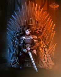 Nikolaj Coster-Waldau as Jaime Lannister by Darakna-Tiamat