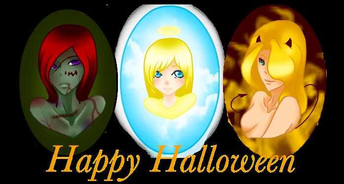 Happy Halloween by PureSunsetRose