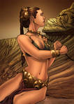 Slave Leia: Carrie Fisher