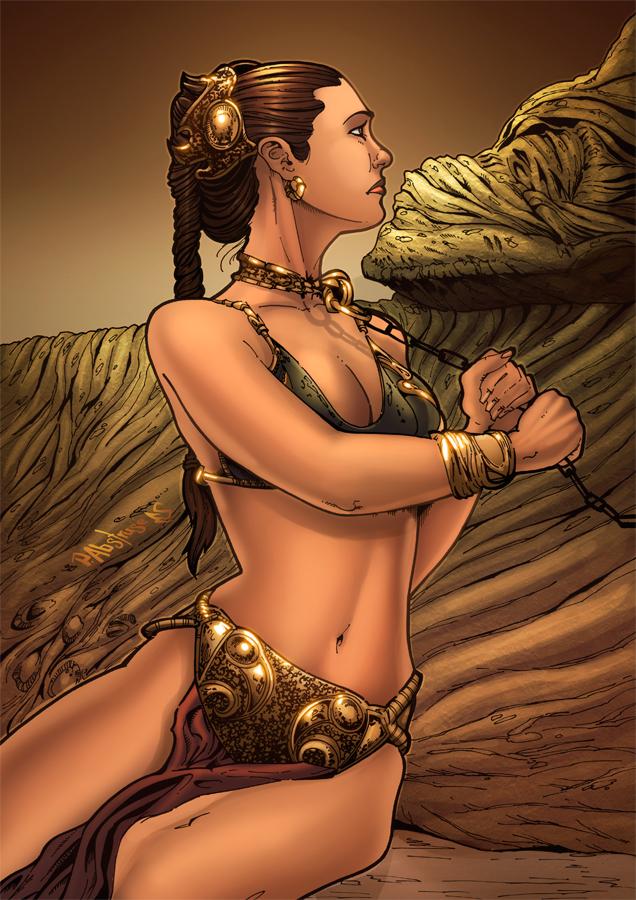 Princess leia slave porn