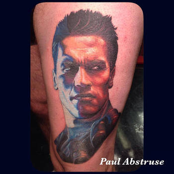 18847dbf4 paulabstruse 4 2 Terminator Portrait by paulabstruse