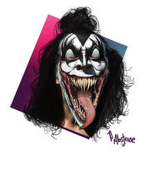 Gene Simmons Venomised