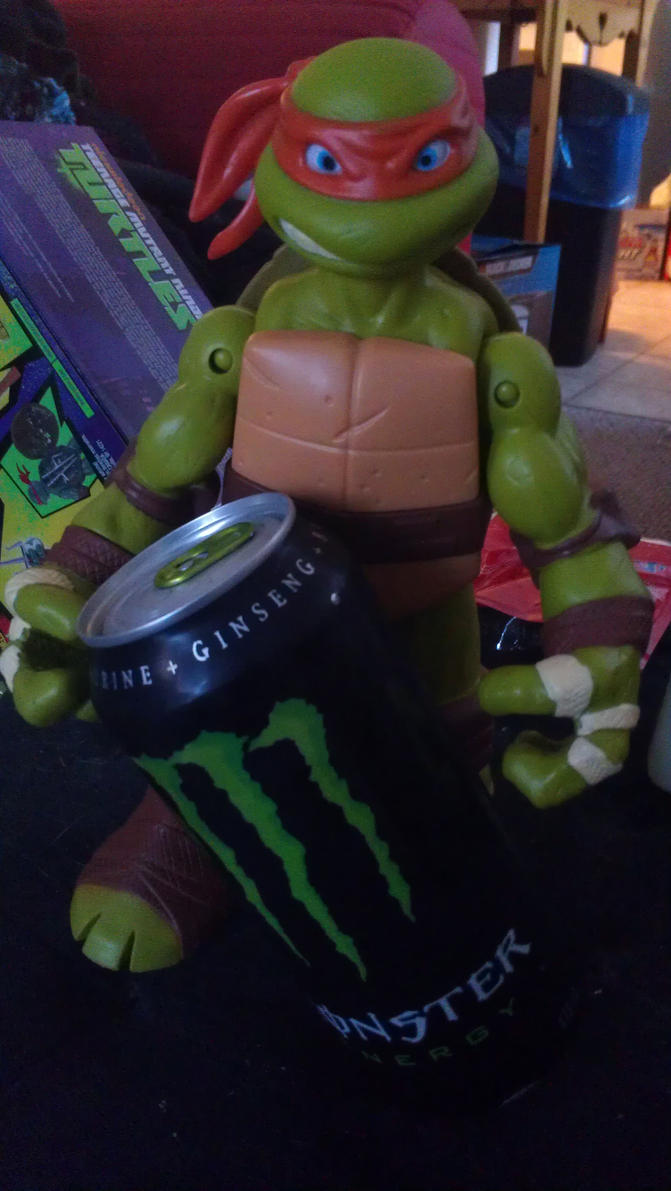 mikey took my monster drink by WolffangComics