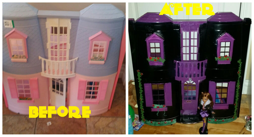 Custom monster high house by WolffangComics