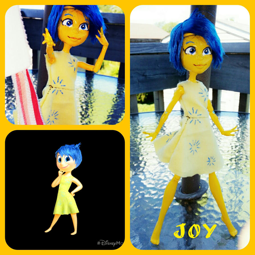 Custom joy doll by WolffangComics
