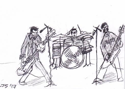 Chevelle band cartoon