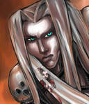 Sephiroth Shades of Red
