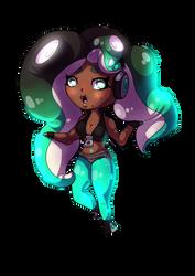 Marina (SPLATOON 2) (SPEEDPAINT IN BIO) by o-estato-o