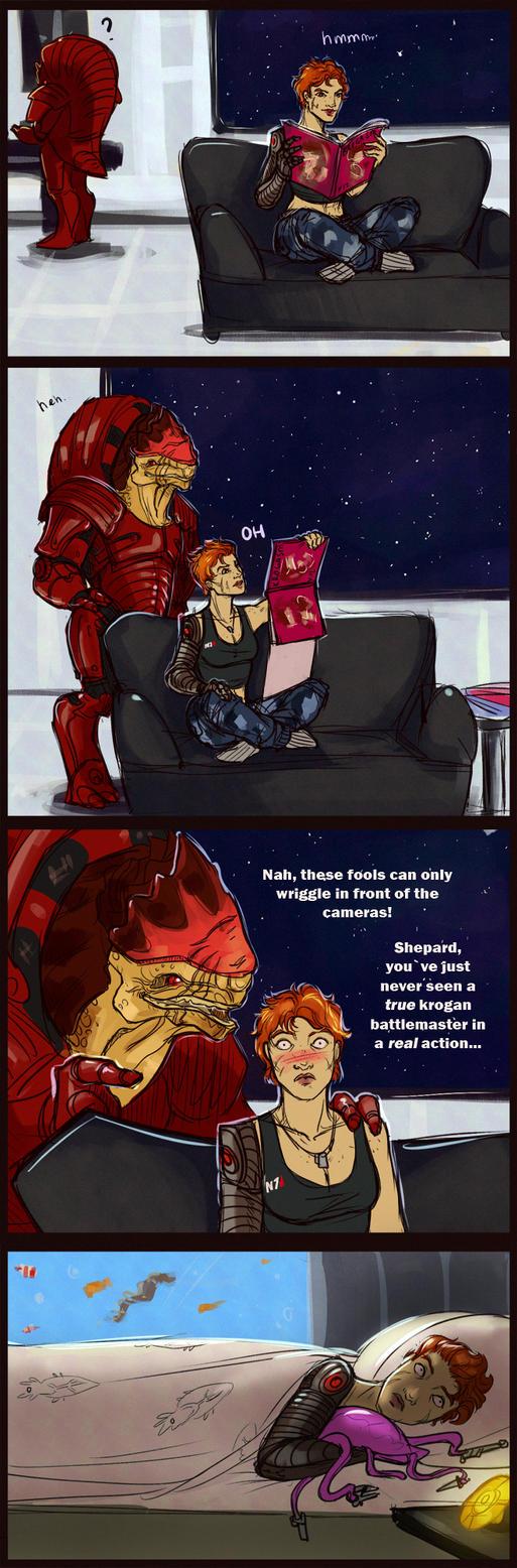 Wrex loves trolling by Eonixa