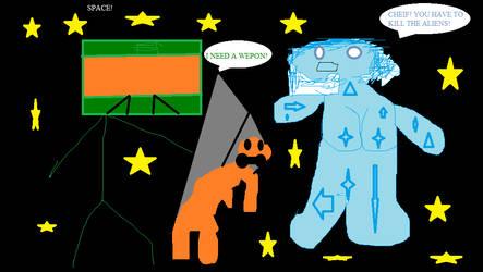 Halo 5: Space: The Fenal Frontier by QuickShotn0sC0pEz5