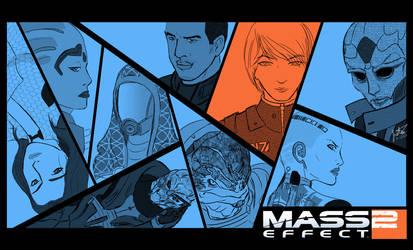 Mass Effect 2 Wallpaper by Mecha-Machi