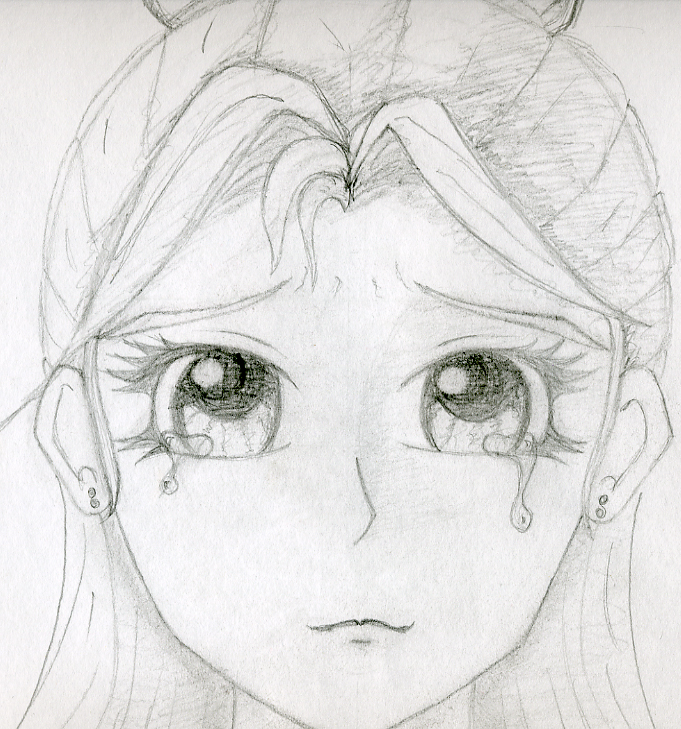 Crying Girl By Charli Cake On Deviantart