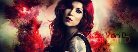 Kat Von D Signature by loveleaf