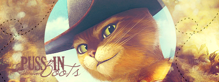 Puss in Boots signature by loveleaf