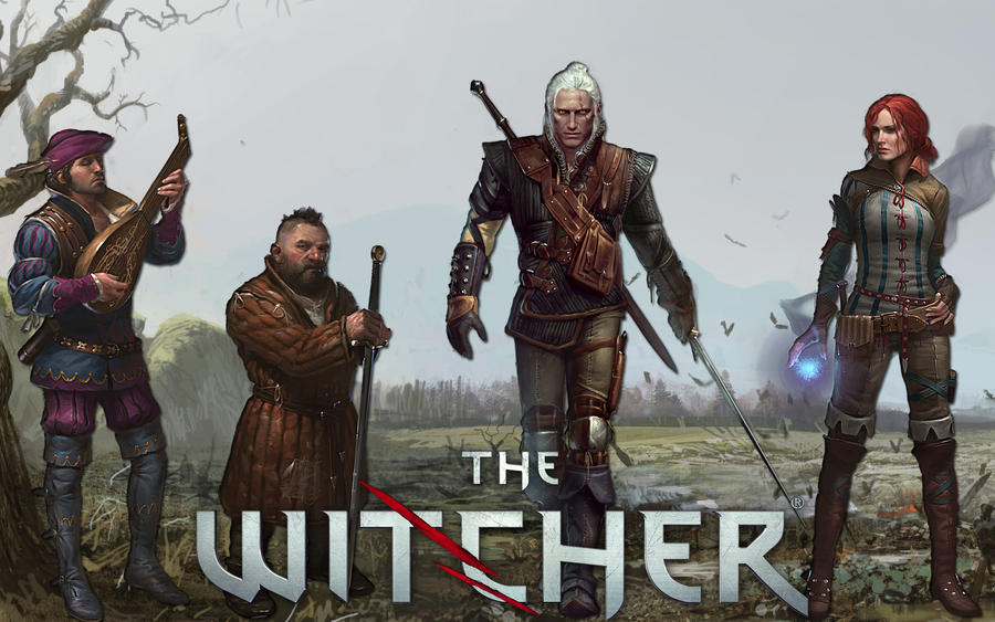 Witcher 1 by Michio11