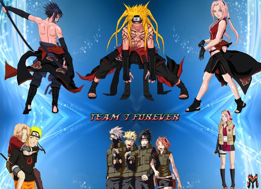 Team 7 naruto by Michio11 on DeviantArt