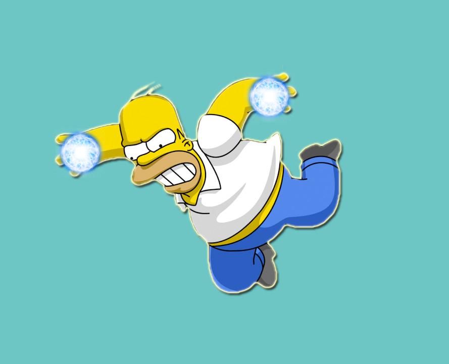 Homer Rasengan by Michio11