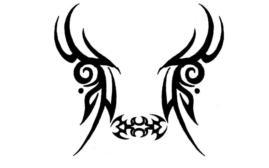 Creepy tatto Face by Michio11 on deviantART