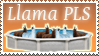 Llama pls Stamp by Michio11