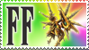 Final Fantasy Stamp Fury Bahamut by Michio11