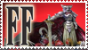 Final Fantasy Stamp Knights of the round by Michio11