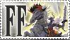 Final Fantasy Stamp Odin by Michio11