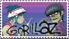 Gorillaz Stamp by Michio11