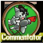 Commentator Bronze by Michio11