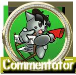 Commentator Diamond by Michio11