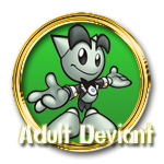 Adult Deviant Gold by Michio11