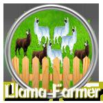 Llama farmer silver by Michio11