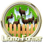 Llama farmer diamond by Michio11