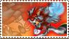 Darren Redblast Stamp by Michio11