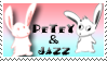 petey and jazz stamp by Michio11