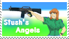 Stush's Angels Stamp by Michio11