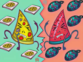 Triangle Food Melee