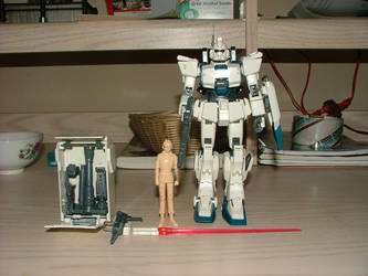 Mecha Model: Gundam Ez8 by RambaRal4OWNAGE