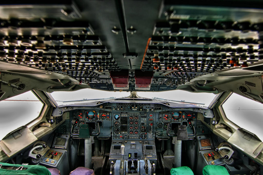 Aerounion Airbus A300 Cockpit By Laloxxx On Deviantart
