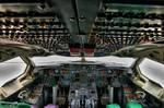 AeroUnion Airbus A300 Cockpit