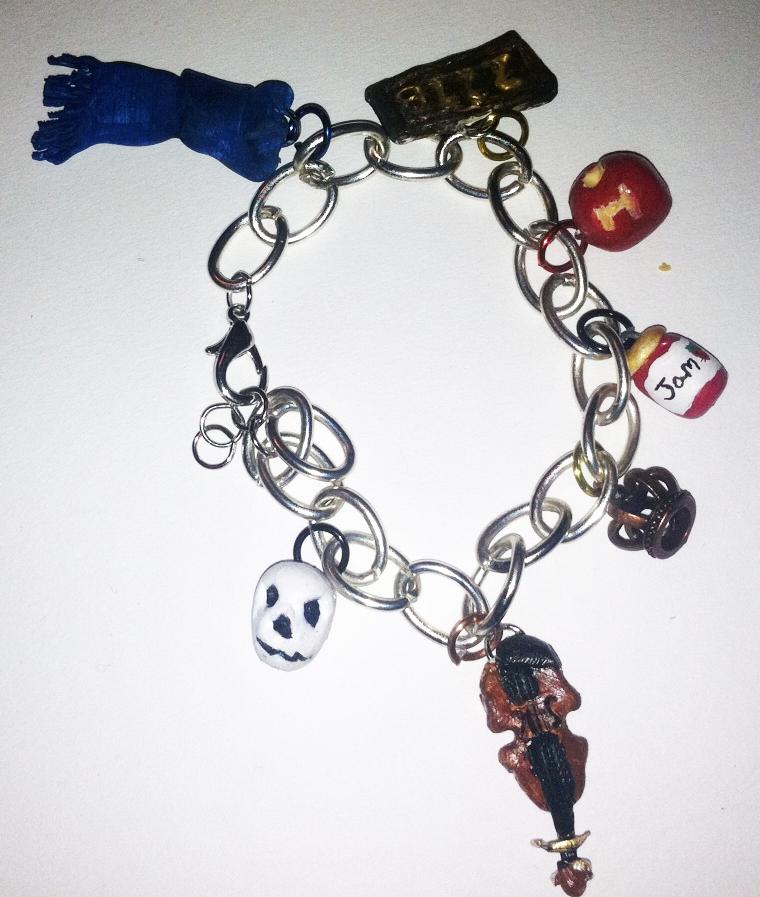 Sherlock Charm Bracelet by AiwenStarr